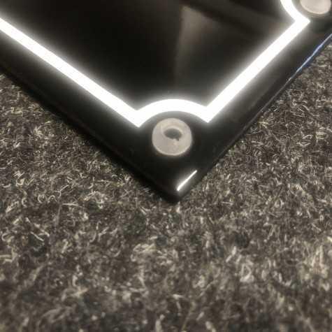 Gummibøsning Ø 5 mm for Emaljeskilt