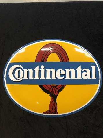 Continental Emaljeskilt 50 x 40 cm