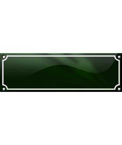 BLACK SWAN COURT NAVNESKILT 22 x 7 CM Emaljehuset