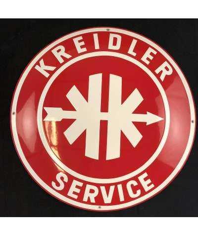 Kreidler Service Emaljeskilt ø 50 cm