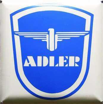 Adler Emaljeskilt 40 x 40 cm Emaljehuset