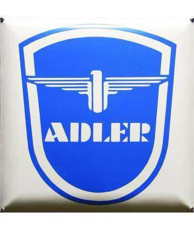 Adler Emaljeskilt 40 x 40 cm