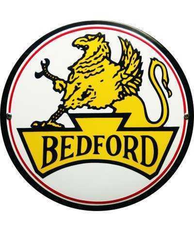 Bedford Emaljeskilt Ø 25 cm