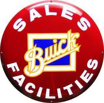 Buick Emaljeskilt Ø 50 cm Emaljehuset