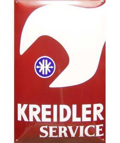 Kreidler Service Emaljeskilt 40 x 60 m