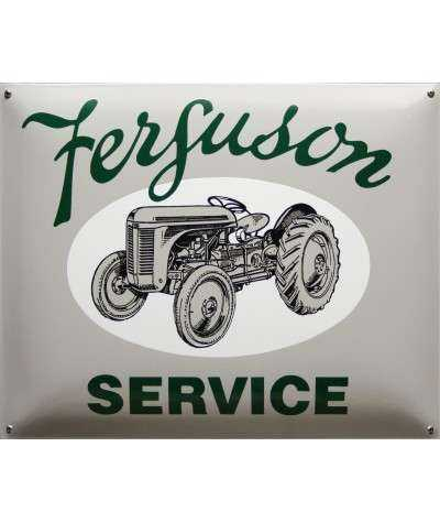 Ferguson Service Emaljeskilt 50 x 40 cm