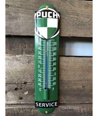 Puch termometer Emaljeskilt 6,5 x 30 cm cm
