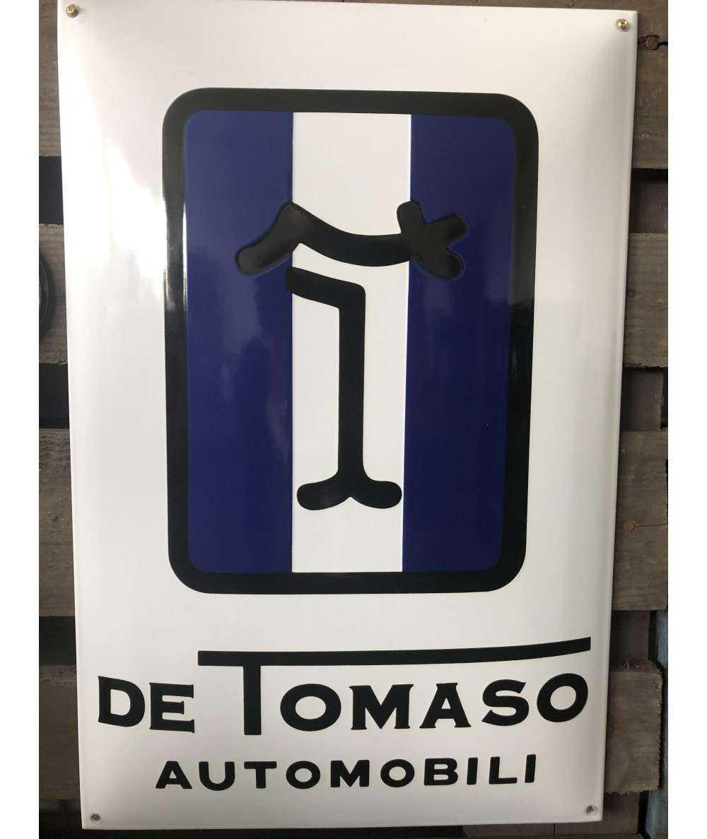 De Tomaso Emaljeskilt 40 x 60 cm Emaljehuset
