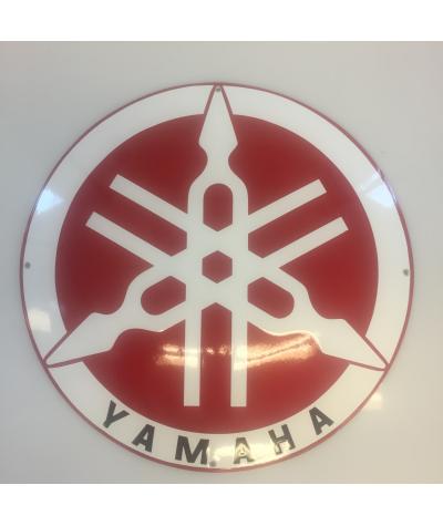 YAMAHA Emaljeskilt Ø 50 cm