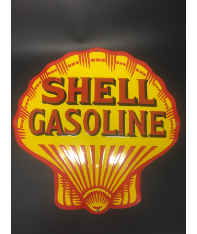 Shell Gasoline Emaljeskilt Ø 50 cm
