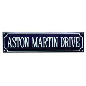 Aston Martin Drive 33 x 8 cm Emaljehuset
