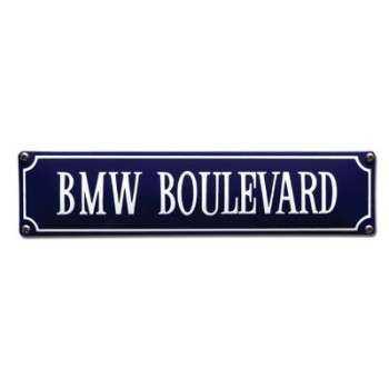 BMW Boulevard 33 x 8 cm Emaljehuset