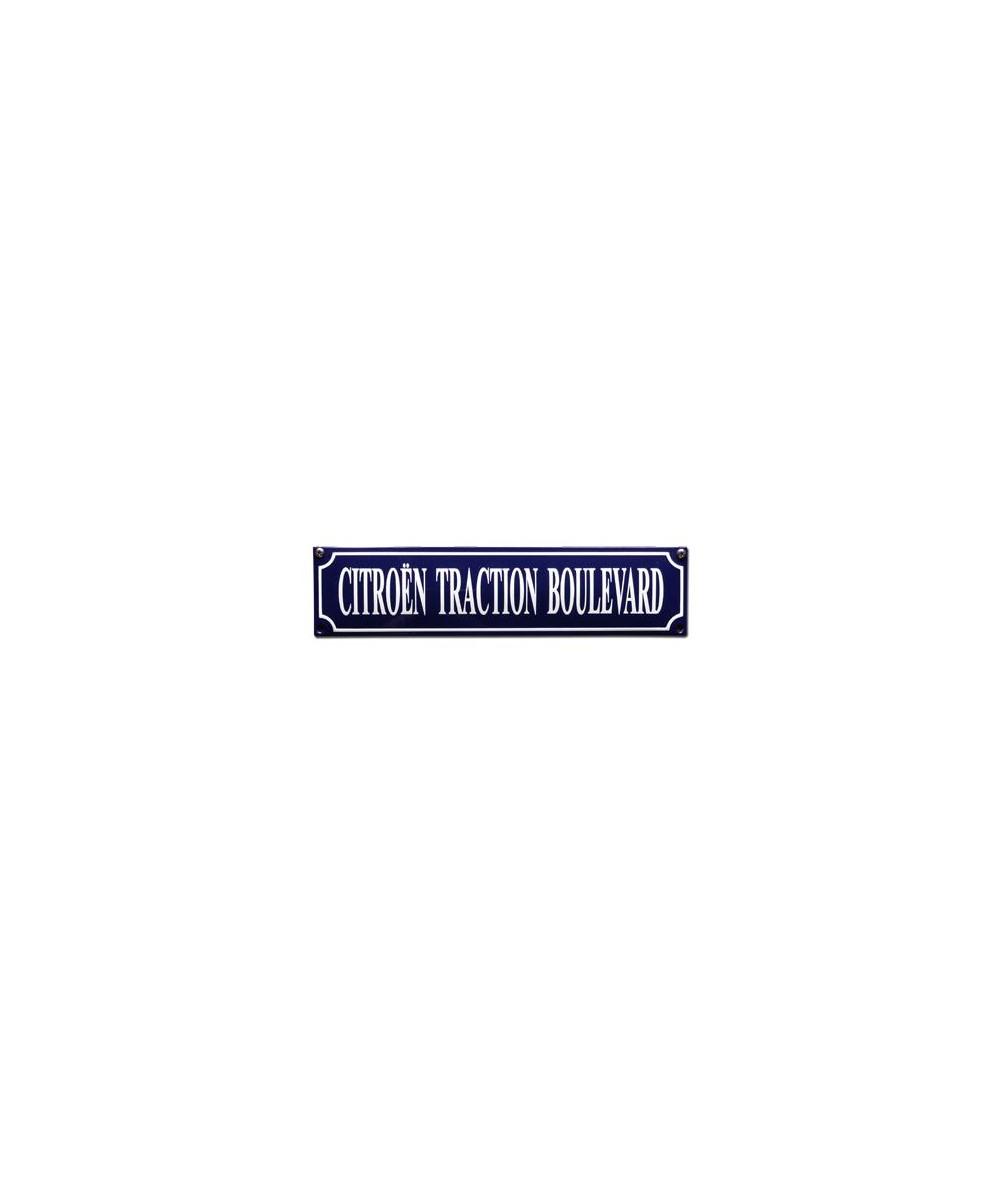 Citroén Traction Boulevard 33 x 8 cm Emaljehuset