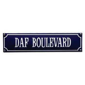 DAF Boulevard 33 x 8 cm Emaljehuset
