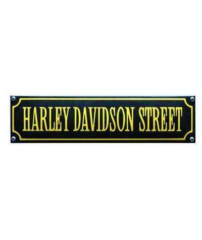 Harley Davidson Street Gul 33 x 8 cm