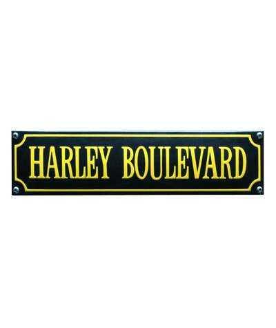 Harley Boulevard Gul 33 x 8 cm