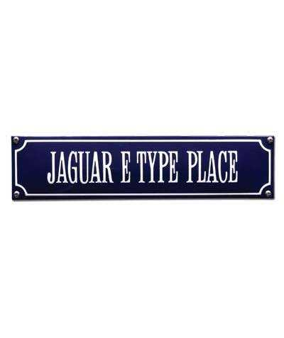 Jaguar E Type Place 33 x 8 cm