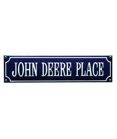 John Deere Place 33 x 8 cm