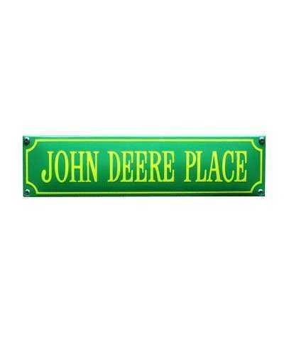 John Deere Place Grøn 33 x 8 cm