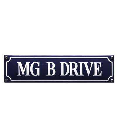 MG B Drive 33 x 8 cm