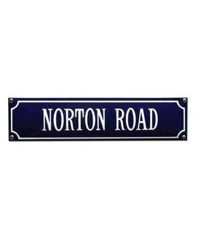 Norton Road 33 x 8 cm