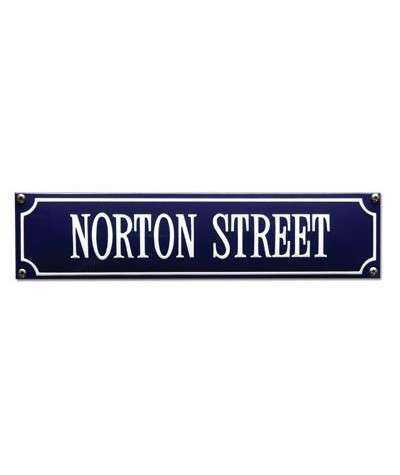 Norton Street 33 x 8 cm
