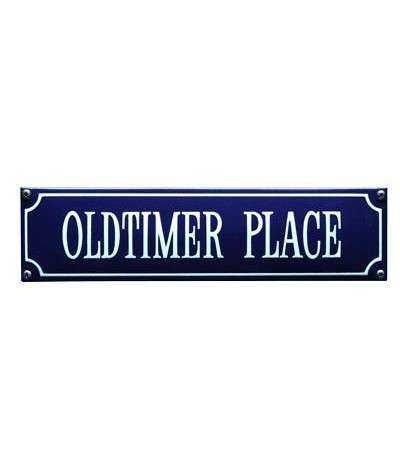 Oldtimer Place 33 x 8 cm