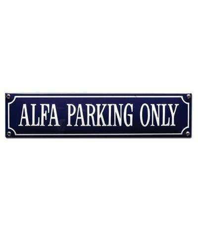 Alfa Parking Only 33 x 8 cm