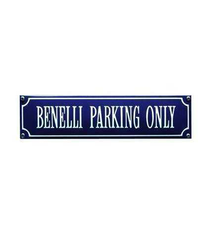 Benelli Parking Only 33 x 8 cm