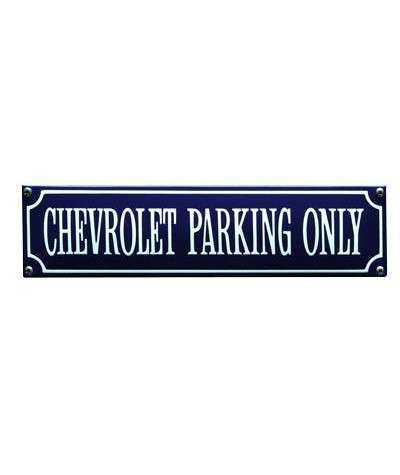Chevrolet Parking Only 33 x 8 cm