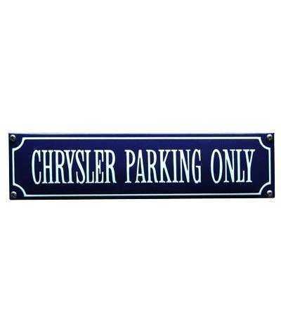 Chrysler Parking Only 33 x 8 cm