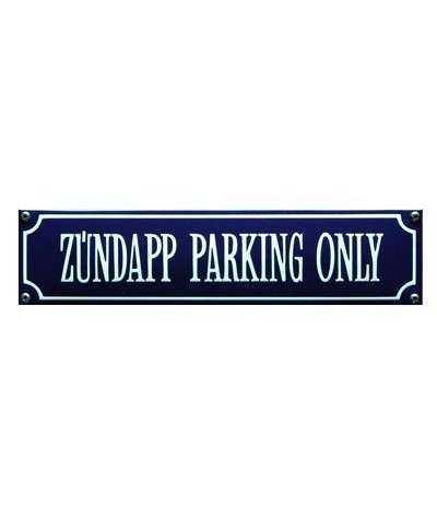 Zúndapp Parking Only 33 x 8 cm