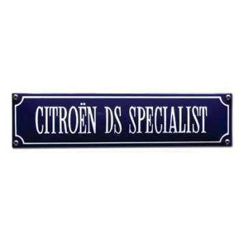 Citroën DS Specialist 33 x 8 cm Emaljehuset