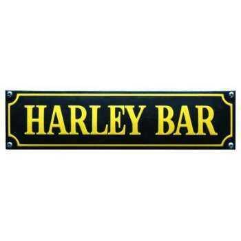 Harley Bar 33 x 8 cm Emaljehuset