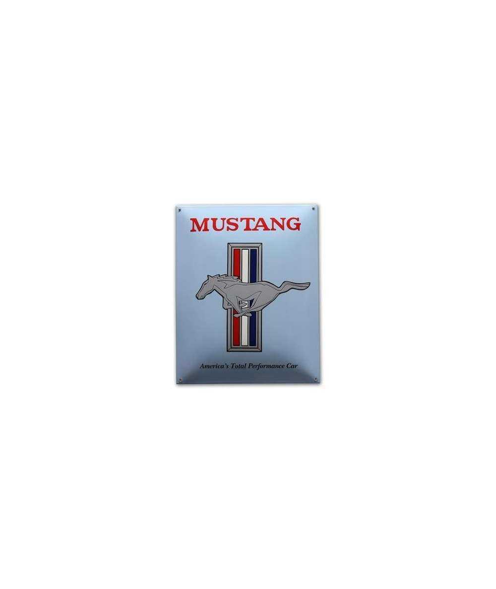Mustang Emaljeskilt 40 x 50 cm Emaljehuset