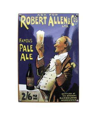 Famous Pale Ale 20 x 30 cm
