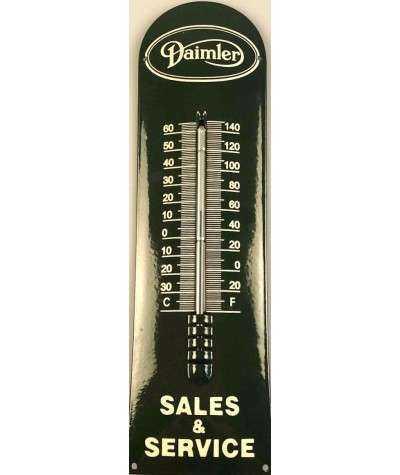 Daimler, Sales & Service Termometer 12 x 43 cm