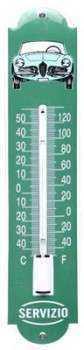 Termometer Servizio 6,5 x 30 cm Emaljehuset