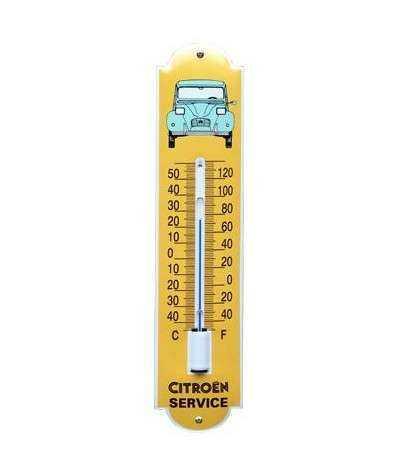 Termometer Citroén 6,5 x 30 cm