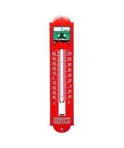 Termometer Service Rød 6,5 x 30 cm