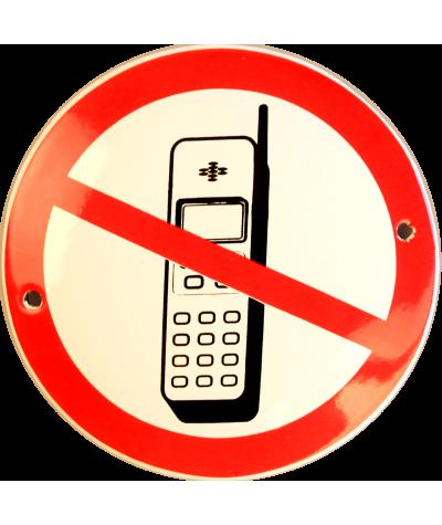 Telefon forbudt Ø 10 cm