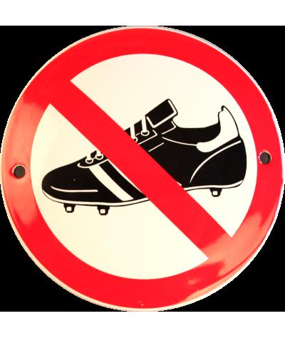 Fodboldstøvler forbudt Ø 10 cm