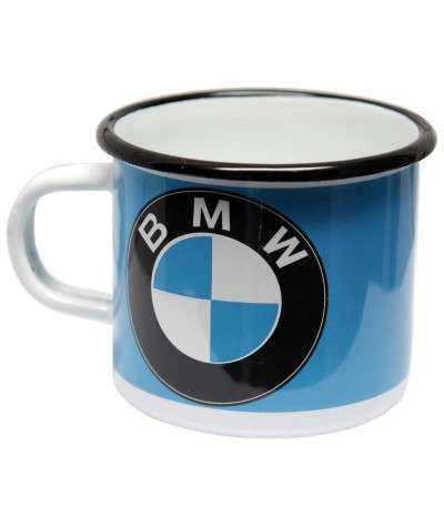 Emaljekrus, BMW  8 x 8 x 7,5 cm