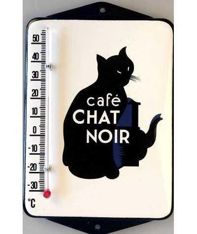 Termometer Cafe Chat Noir 12 x 19 cm